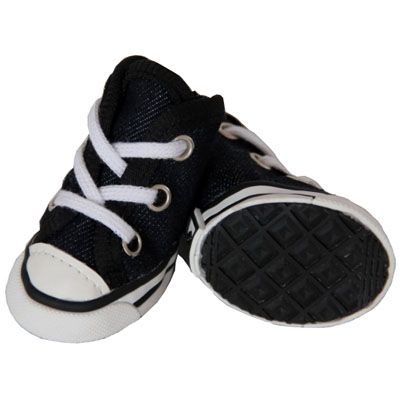 Extreme-Skater Canvas Casual Grip Dog Sneaker Shoes - Set Of 4
