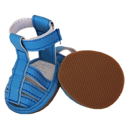 Buckle-Supportive Pvc Waterproof Dog Sandals Shoes - Set Of 4