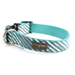'Agave' Laminated Cotton Dog Collars & Leashes