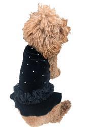 Twinkle Tutu Dress, Black Velvet