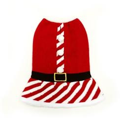 Santa Girl Sweater Dress