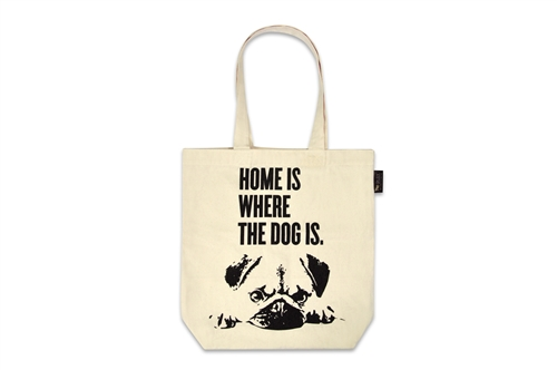 Tote Bag_Home is where the Dog is
