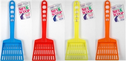 Plastic Cat Litter Scoop with Rake