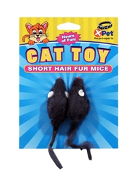 Furry Friends Short Hair Mice 2 Pack