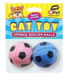 Sponge Soccer Balls 2 Pack