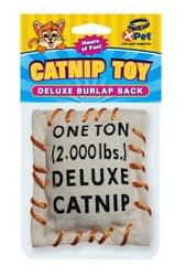 Deluxe Burlap Sock with Catnip
