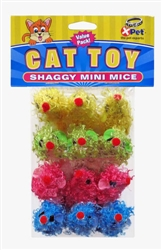 Shaggy Mini Mice 12 Pack
