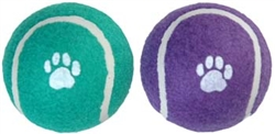 Tiny Tails Standard Doggie Tennis Balls 2.5 inch 2 pack