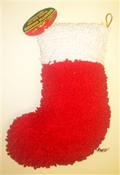 Scruffie Nubbie Plush Christmas Stocking 16 inch