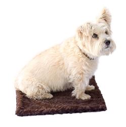 Brown Paisley Minkie Binkie Blanket