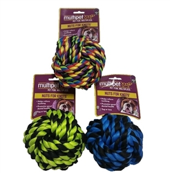 Multipet Nuts for Knots Ball Assorted Colors