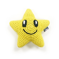 PAWer Squeaky Toy - Cute Star
