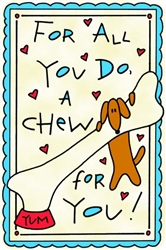 Crunch Card - For All You Do - A Chew for You
