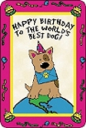 Crunch Card - Happy Birthday, World's Best Dog