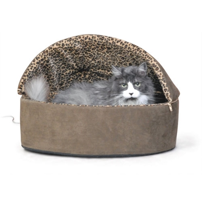 Thermo-Kitty Deluxe Hooded Bed