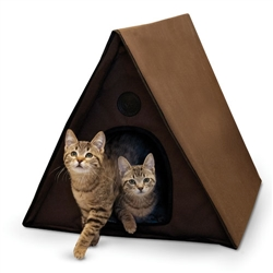 Outdoor Multi-Kitty A-Frame