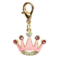 Princess Crown Clip on Collar Charms