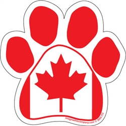Canadian Flag Paw