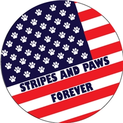 Stripes and Paws Forever Circle