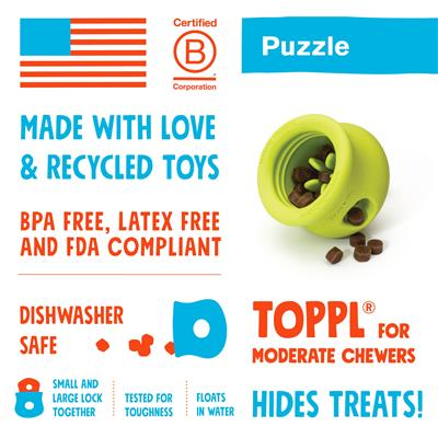 Toppl - Puzzle & Treat Toy