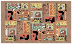 Cool Dog Brown Placemat