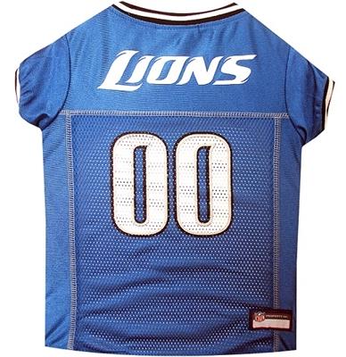 NFL Detroit Lions Dog Jerseys
