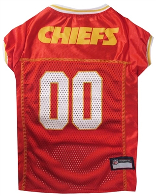 NFL Kansas City Chiefs Dog Jersey