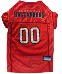 NFL Tampa Bay Buccaneers Dog Jersey - NFL Dog Jerseys