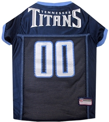 NFL Tennessee Titans Dog Jersey