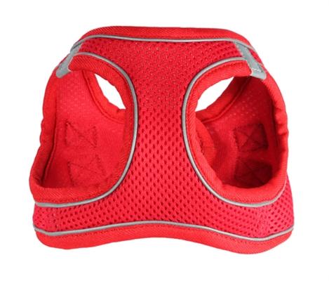 EZ Reflective Sports Mesh Harness Vest - Red
