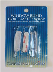 Window Blind Cord Safety Wrap - 6 Pack