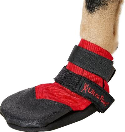 ULTRA PAWS DURABLE BOOTS RED; OUR BEST SELLER! AVAILABLE IN 6 SIZES!