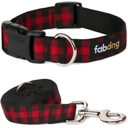 Red Buffalo Check Collars & Leads
