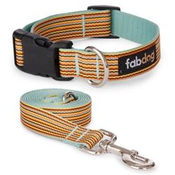 Sky Mini Stripe Collars & Leads