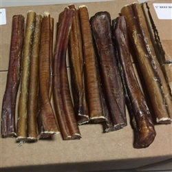 "5"" BEEF BULLY STICKS  - 50 per cs bulk"