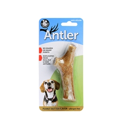 Peanut Butter Flavor Nylon Antlers