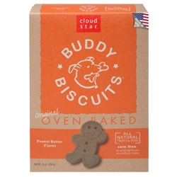 Buddy Biscuits Baked Treats, Peanut Butter