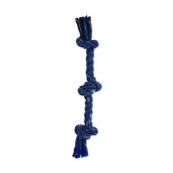 """Denim Rope 3 Knot Tug 20"""""""