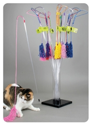 The PURRfect® Curly Cat Toy