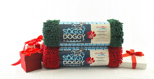 Soggy Doggy Holiday DOORMAT® - Large