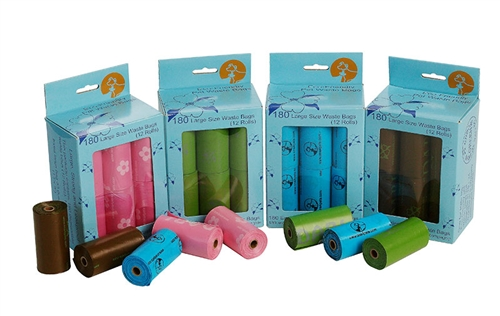 Degradable Waste Bags (12 rolls per pack)