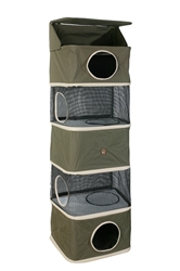 All-in-One Portable Cat Activity Tower (Five Storey)