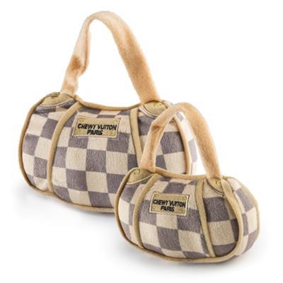 Checker Chewy Vuiton Purse