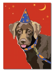 Birthday: Choco Lab Pup