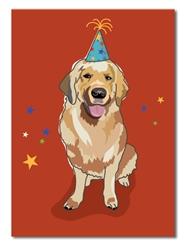 Birthday: Gloden R. W/ B-day Hat