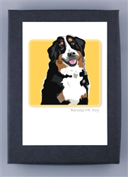 Bernese Mt. Dog - Grrreen Boxed Note Cards