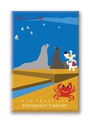 SF, Fisherman's Wharf: Fridge Magnet