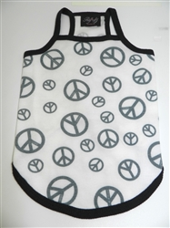 Peace Summer Tank by Ruff Ruff Couture®