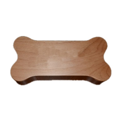 Bone Shaped Wooden Box Urn