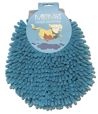 Chenille Grooming Mitt by Messy Mutts